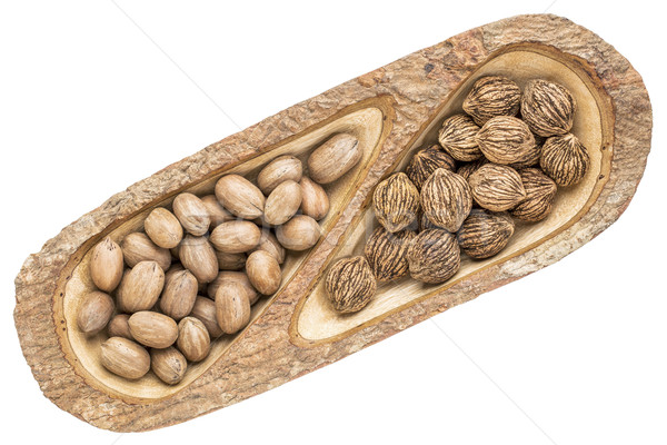 pecans and black walnuts  Stock photo © PixelsAway