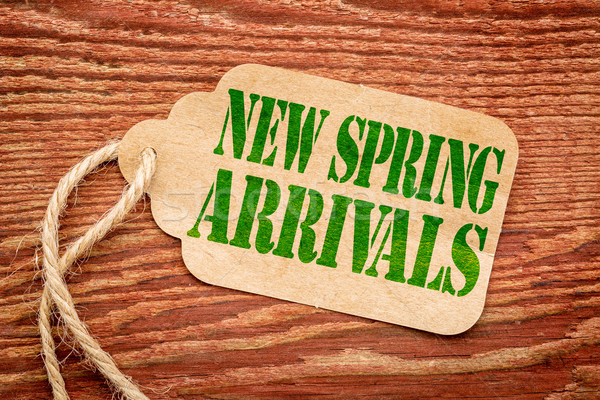 new spring arrivals price tag Stock photo © PixelsAway