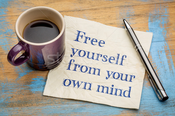 Free yourself from your own mind Stock photo © PixelsAway