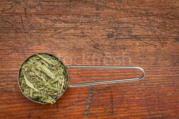 stevia dried leaves Stock photo © PixelsAway
