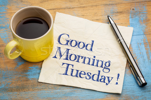 Good Morning Tuesday Stock photo © PixelsAway