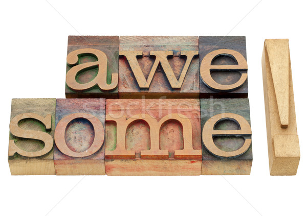 устрашающий комплимент изолированный аннотация Vintage древесины Сток-фото © PixelsAway