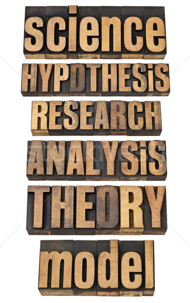 science and research related terms Stock photo © PixelsAway