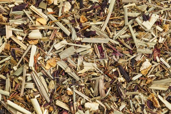 Сток-фото: органический · чай · текстуры · кофеин · свободный · лист