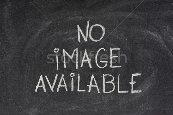no image available text on blackboard Stock photo © PixelsAway