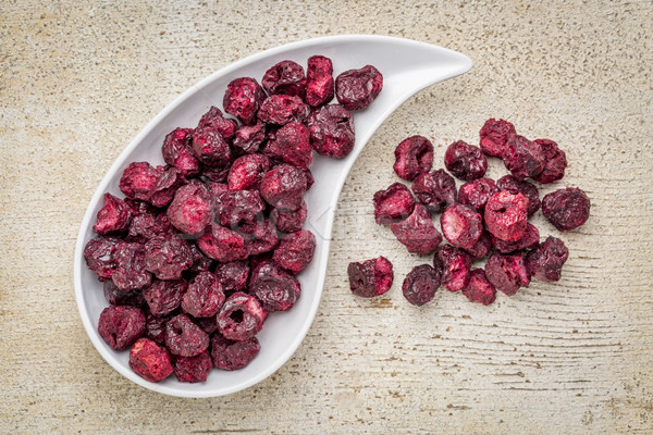 freeze dried cherries Stock photo © PixelsAway