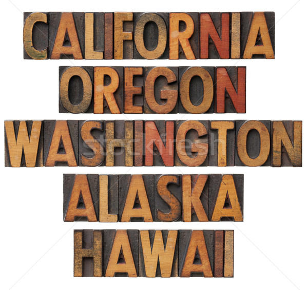 California and Pacific states Stock photo © PixelsAway