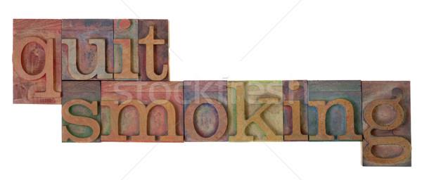quit smoking Stock photo © PixelsAway