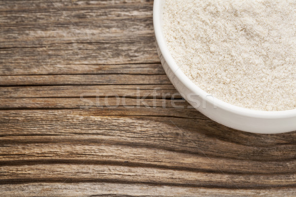 gluten free brown rice flour Stock photo © PixelsAway