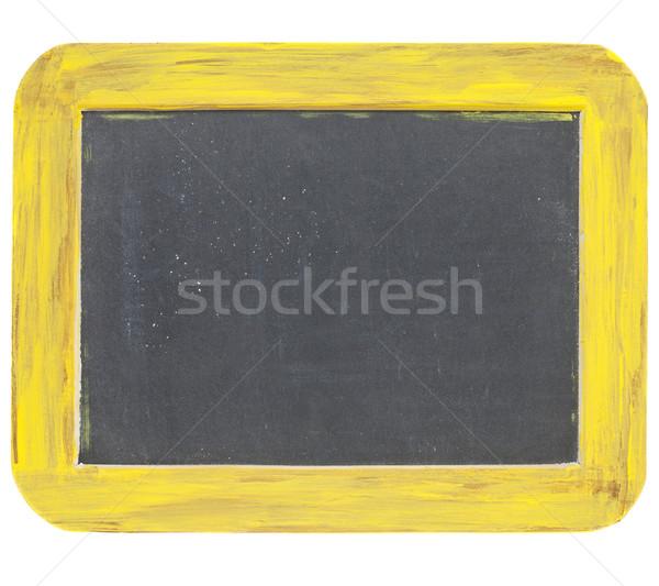 blank slate blackboard sign Stock photo © PixelsAway
