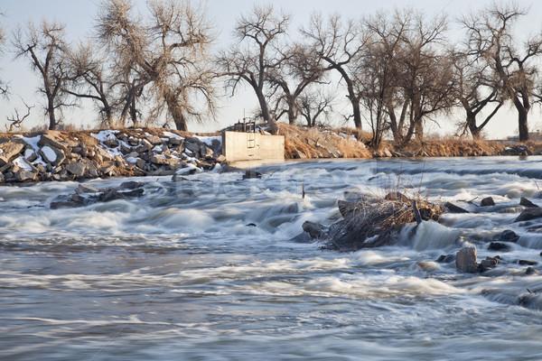 river diversion dam in Colorado Stock photo © PixelsAway