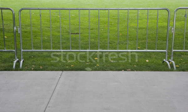 temporary barier for outdoor event Stock photo © PixelsAway
