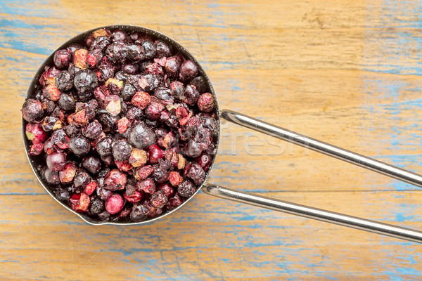 freeze dried ekderberries Stock photo © PixelsAway