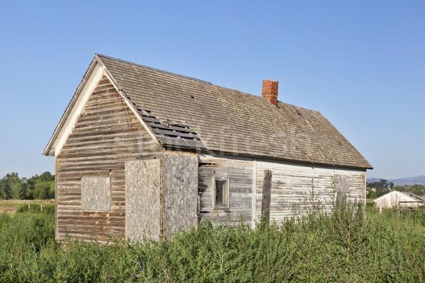 old abandoned farm house Stock photo © PixelsAway