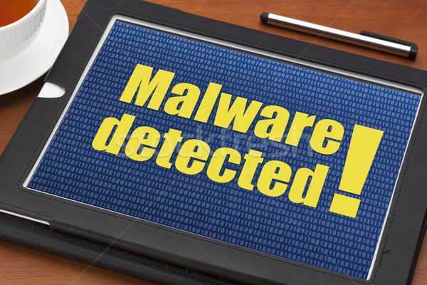 malware detected alert  Stock photo © PixelsAway