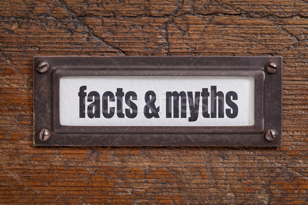 facts and myths Stock photo © PixelsAway
