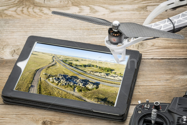 aerial photography concept Stock photo © PixelsAway