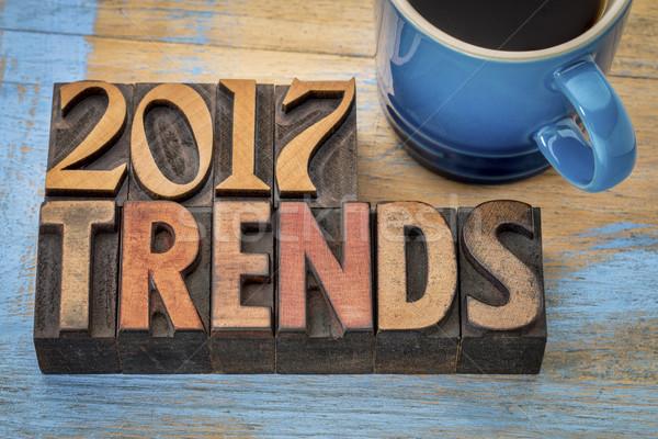 2017 trends in wood type Stock photo © PixelsAway