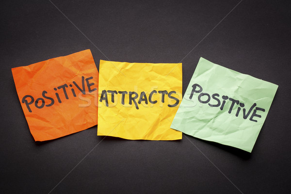law of attraction concept Stock photo © PixelsAway