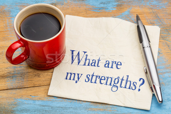 what are my strengths question Stock photo © PixelsAway
