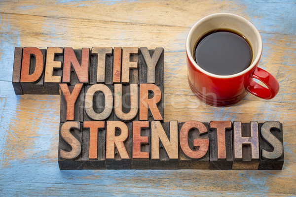 Identify your strengths Stock photo © PixelsAway