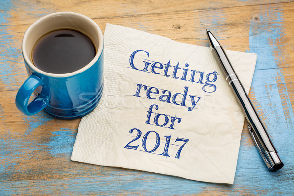 Getting ready for 2017 Stock photo © PixelsAway