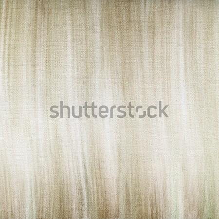 Vászon pasztell absztrakt barna zöld zsírkréta Stock fotó © PixelsAway