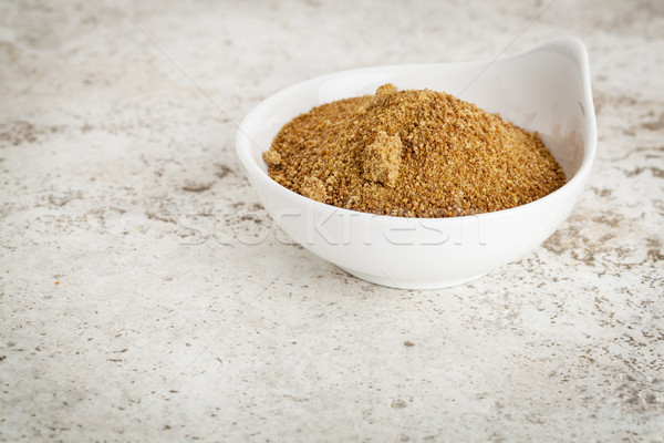 Cocotier sucre faible céramique bol carrelage Photo stock © PixelsAway