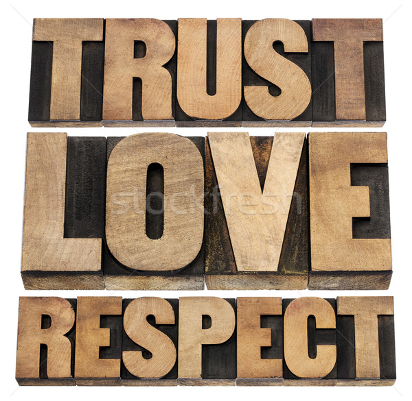 trust, love and respect  Stock photo © PixelsAway