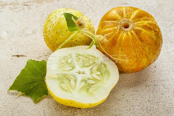 lemon cucumbers Stock photo © PixelsAway