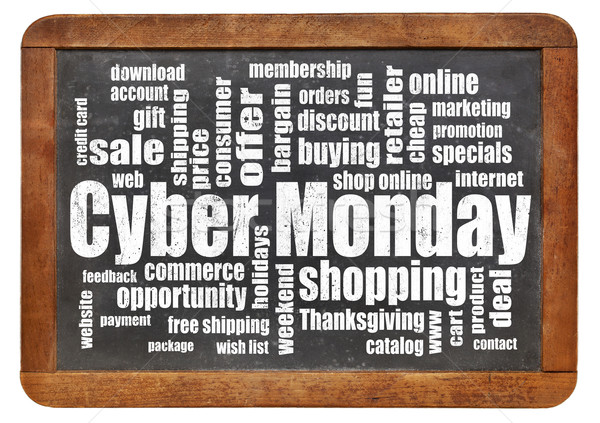 Cyber Monday shopping Stock photo © PixelsAway