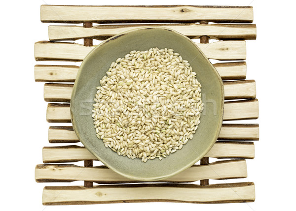 sprouted brown rice Stock photo © PixelsAway