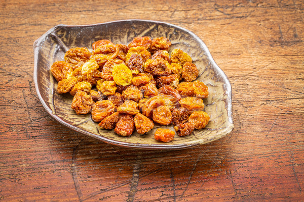 dried goldenberries in bowl Stock photo © PixelsAway