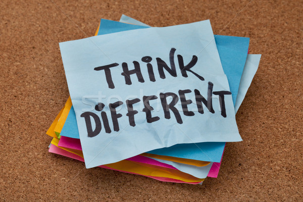 think different concept Stock photo © PixelsAway