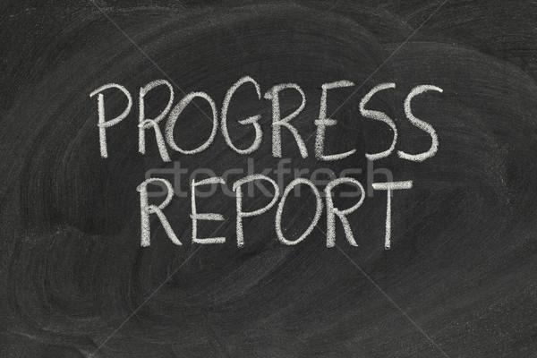 progress report Stock photo © PixelsAway