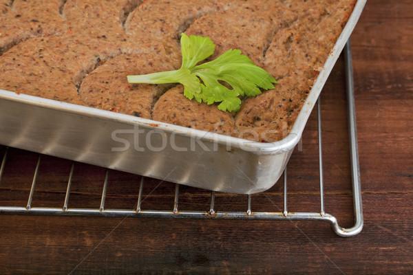 turkey meatloaf Stock photo © PixelsAway