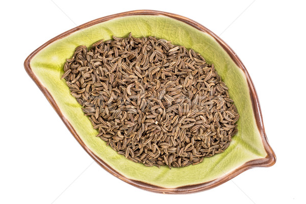 caraway seeds in a bowl Stock photo © PixelsAway