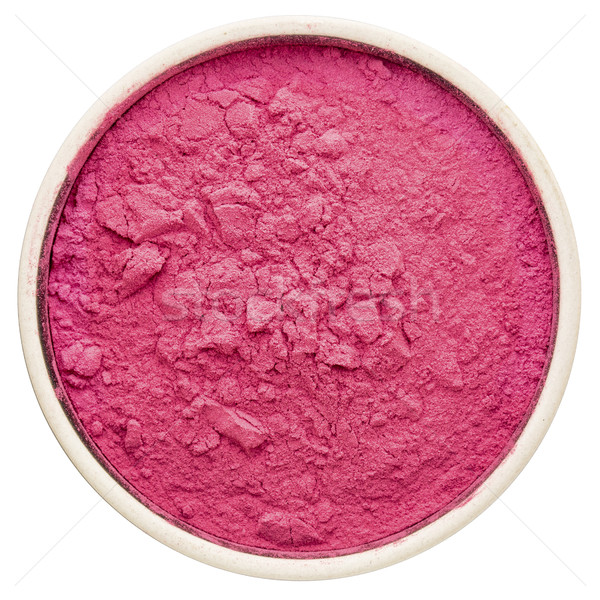 aronia berry powder in a round bowl, Stock photo © PixelsAway