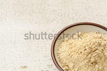 Kókuszpálma cukor kicsi kerámia tál ki Stock fotó © PixelsAway