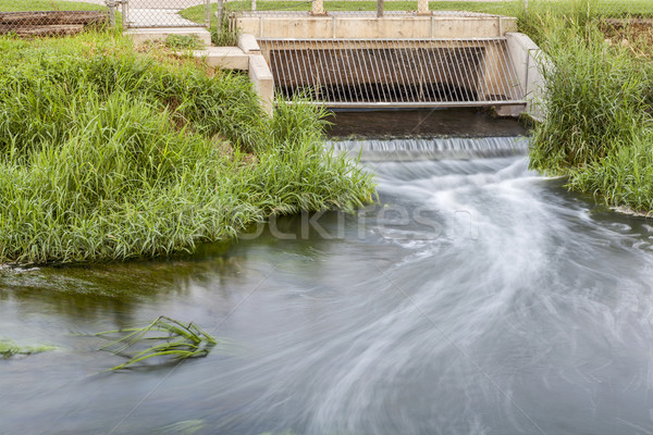 cleaned sewage flowing Stock photo © PixelsAway