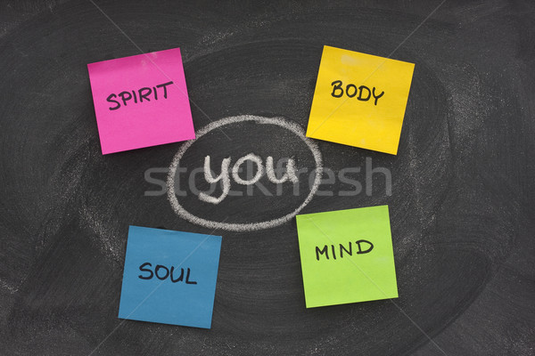 body, mind, soul, spirit and you Stock photo © PixelsAway
