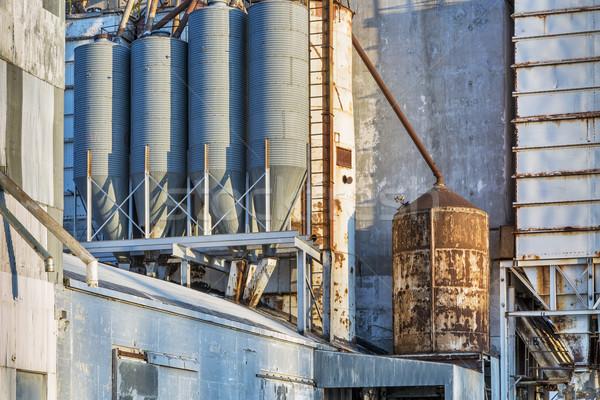 old grain elevator detail Stock photo © PixelsAway