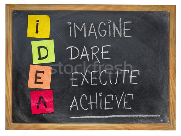 idea - motivation concept Stock photo © PixelsAway