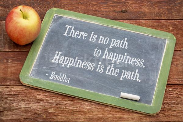 仏 引用 幸福 パス 黒板 ストックフォト © PixelsAway