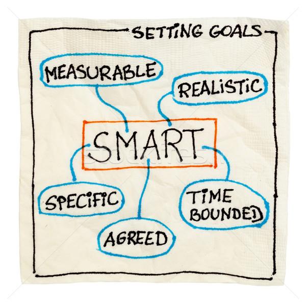 smart goal setting  Stock photo © PixelsAway