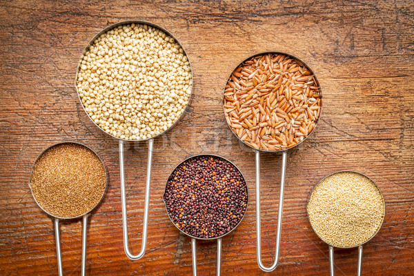 gluten free grain collection  Stock photo © PixelsAway