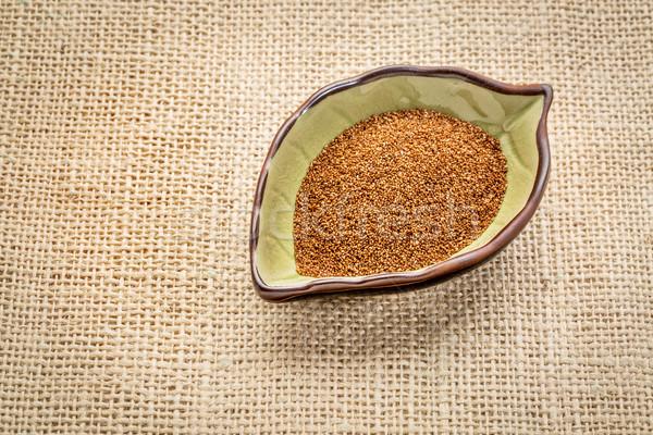 зерна лист чаши брезент Сток-фото © PixelsAway