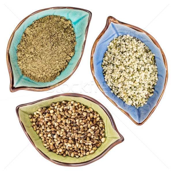 hemp seeds, hearts and protein  Stock photo © PixelsAway