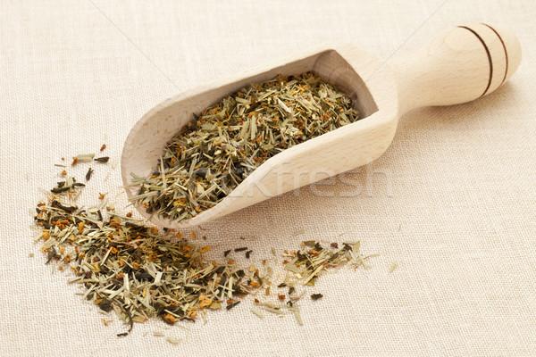 scoop of green tea Stock photo © PixelsAway