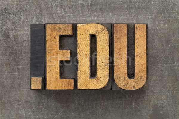internet domain for education Stock photo © PixelsAway